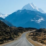 Mountain Image with Road