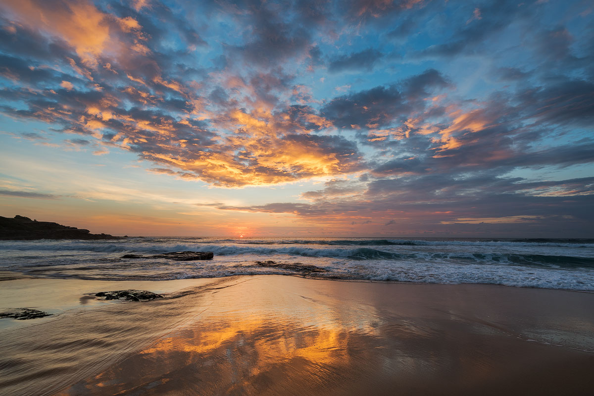 Maroubra Beach Calm sunrise