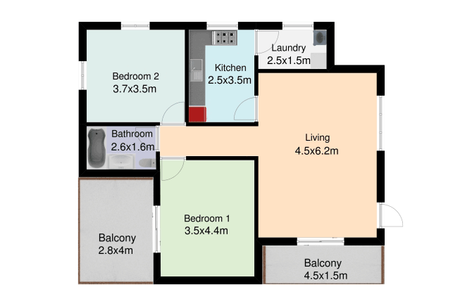 Floor plans beautiful pictures for Floor plan services