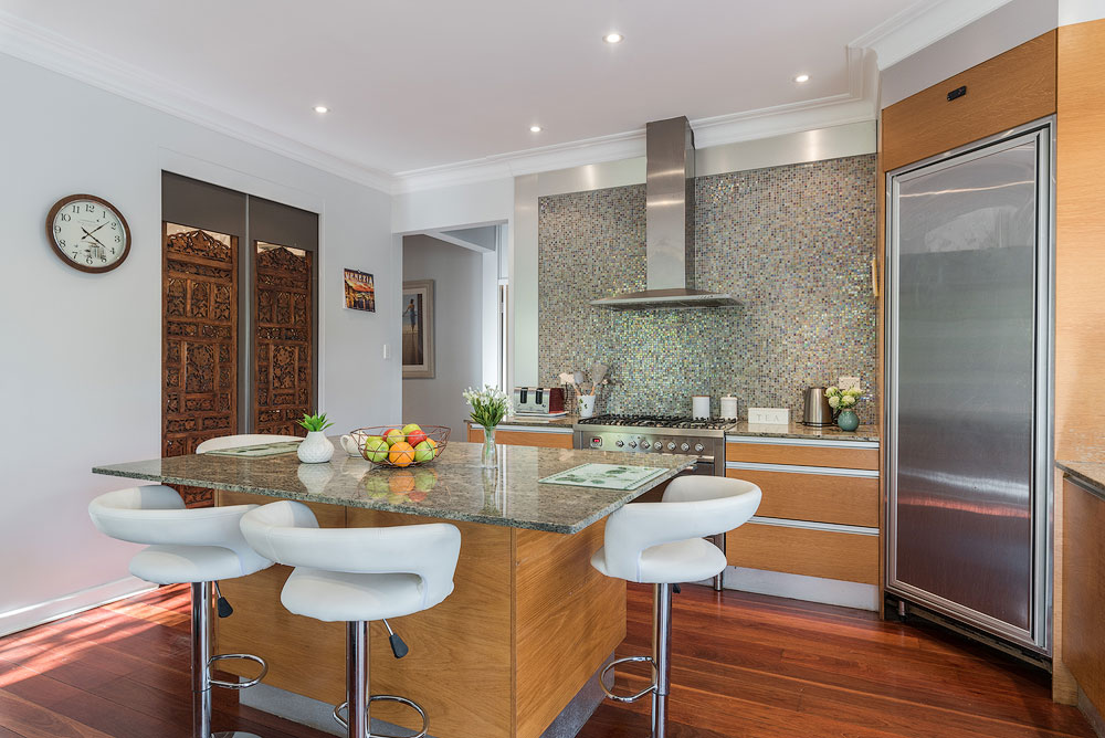 clean kitchen property photography