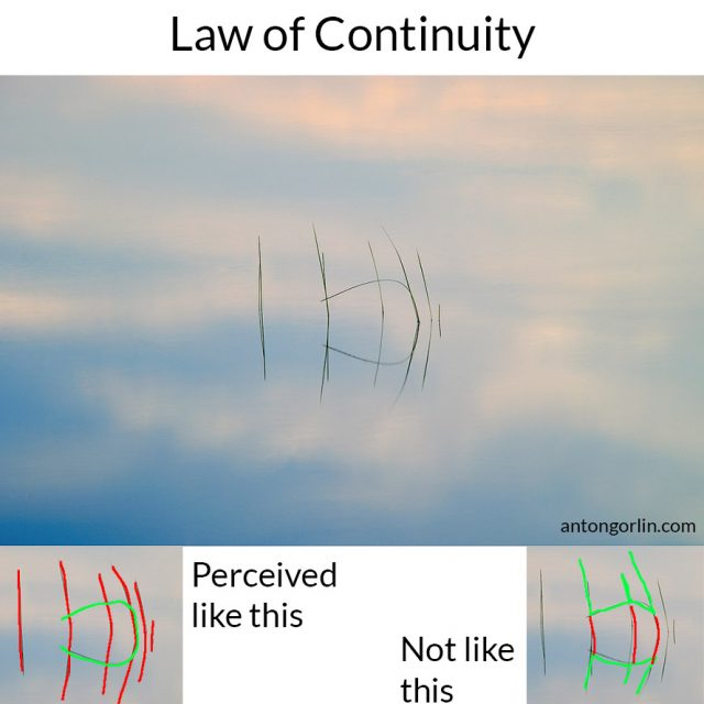 law of continuity gestalt