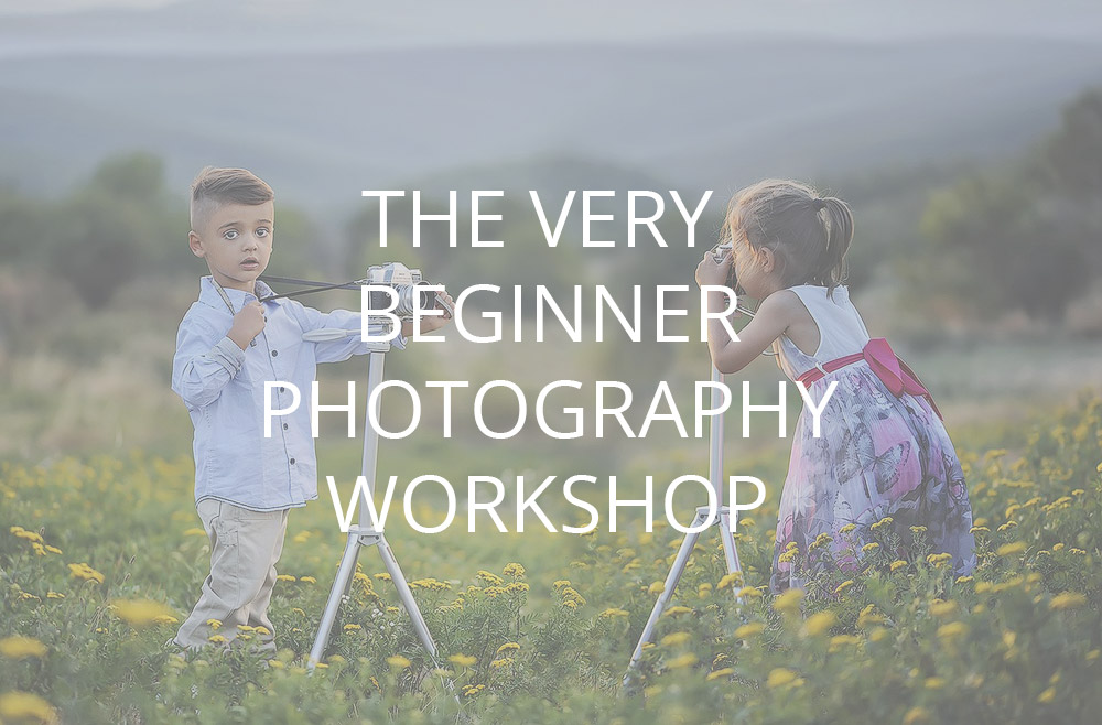 the very beginner photography course