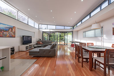 real estate photography Gold Coast living room